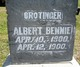 Profile photo:  Albert Bennie Crotinger