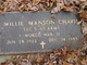 Profile photo:  Willie Manson Chavis