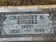 Chauncey N Rogers