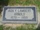 Profile photo:  Ada Lucile <I>Young Lambert</I> Arnold