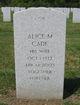 Profile photo:  Alice Margaret <I>Ellinger</I> Cade