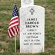"Profile photo:  James Harold ""Jim"" Brown"