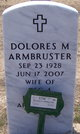Dolores <I>Corcoran</I> Armbruster