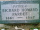 Richard Howard Pardee