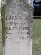 Carrie E. Phillips