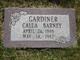 Profile photo:  Calla <I>Barney</I> Gardiner