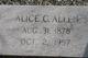 Alice C Allen