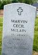 Marvin Cecil McLain