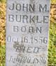 Profile photo:  John M Burkle