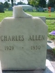 Profile photo:  Charles Cushion Allen
