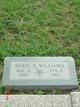 Roxie E. <I>Huddleston</I> Littleton-Williams