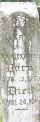 Profile photo:  Maria A. Alexander