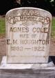 Profile photo:  Agnes <I>Cole</I> Houghton