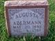 Profile photo:  Augusta <I>Hintz</I> Adermann