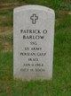 Profile photo:  Patrick O. Barlow