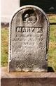 Mary M Black