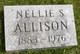 Profile photo:  Nellie S Allison