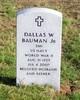 Dallas W Bauman, Jr