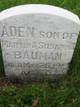 Profile photo:  Aden Bauman