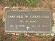 Profile photo:  Garfield W Carpenter