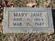 Mary Jane <I>Griffin</I> Prator