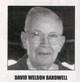 Profile photo:  David Weldon Bardwell