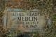 Ethel <I>Headen</I> Medlin