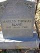 Marilyn <I>Thomas</I> Bland