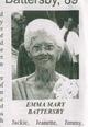 Emma Mary <I>Fryer</I> Battersby