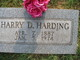 Harry D. Harding