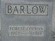 Profile photo:  Forest Colman Barlow