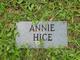 Profile photo:  Annie Hice