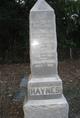 Emma W. <I>Haynes</I> Thomas