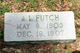 Profile photo:  A. L. Futch