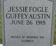 Jessie <I>Fogle</I> Austin
