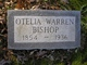 Profile photo:  Ann Otelia <I>Warren</I> Bishop