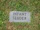 Profile photo:  (Infant #1) Sluder