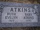 Ruth Evelyn Atkins