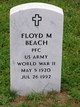 Profile photo:  Floyd Medford Beach