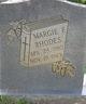 Margie <I>F.</I> Rhodes