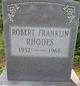 Robert Franklin Rhodes