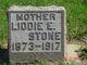"Lydia Emily ""Liddie"" <I>Barnhart</I> Stone"