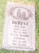 Coy Lee Durfee