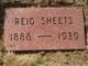 Reid Sheets
