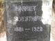 Harriet Silverthorn