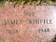 Profile photo:  James Whittle