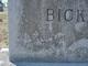 """Kenneth Earl """"Jiggs"""" Bickers"""