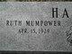 Profile photo:  Anna Ruth <I>Mumpower</I> Harris