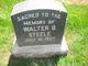 Walter B Steele