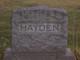 Profile photo:  Alice Sarah <I>Harvey</I> Hayden